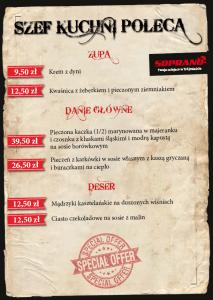 Dania Szefa kuchni